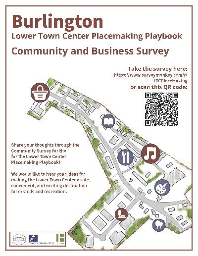 Town Center Flyer for Survey