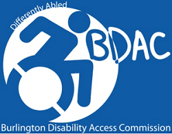 Differently Abled BDAC Burlington Disability Access Commission
